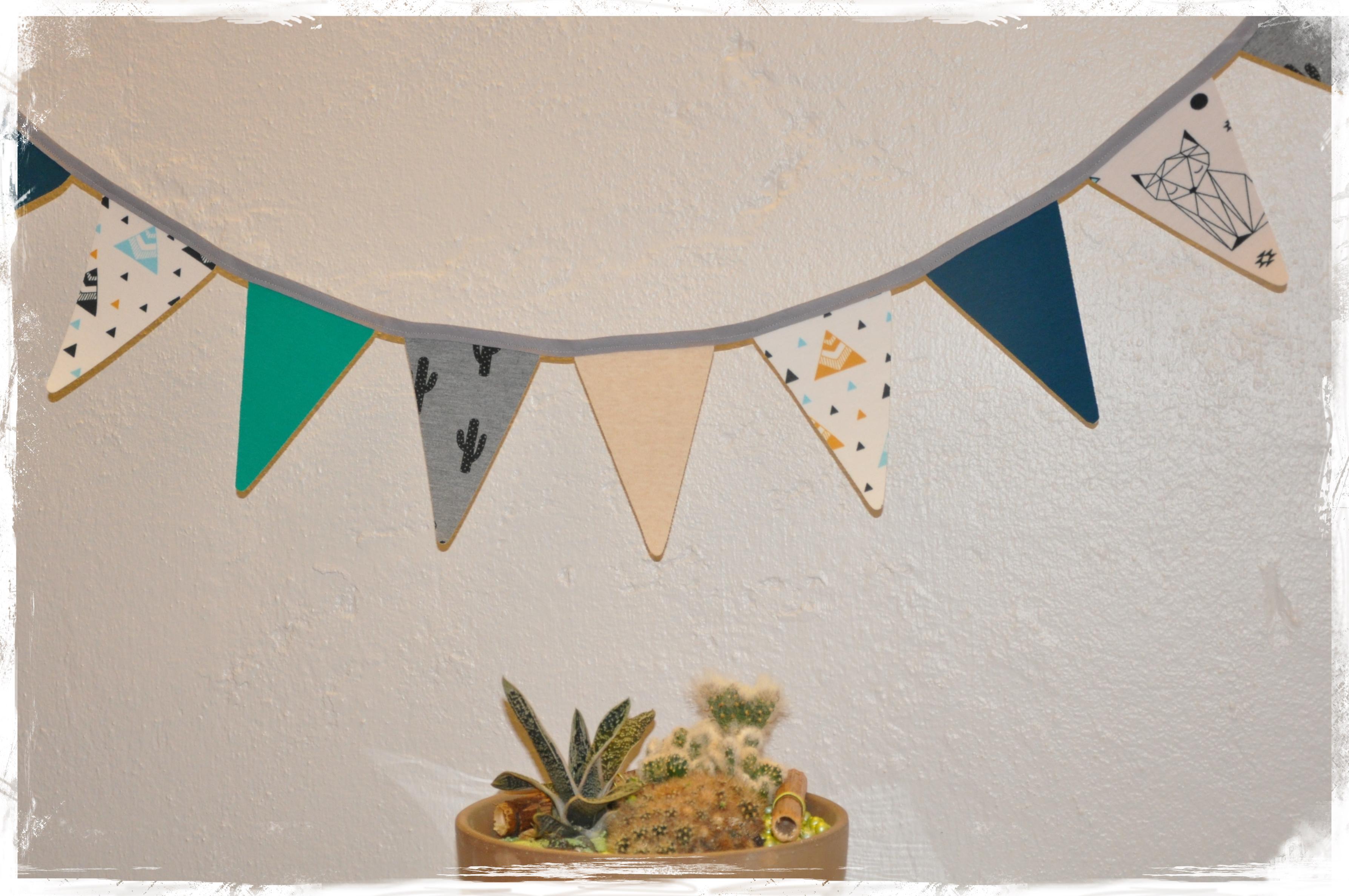Guirlande indienne cactus