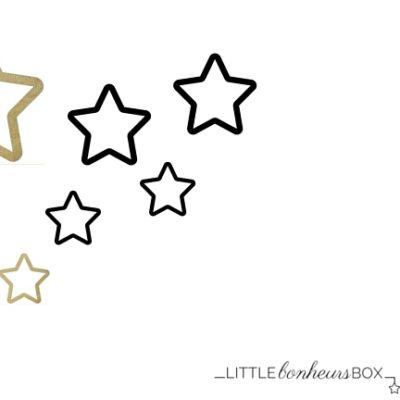Little Bonheurs Box : Pluie d'étoiles …