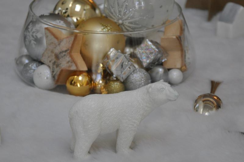 Village Noël verre 12
